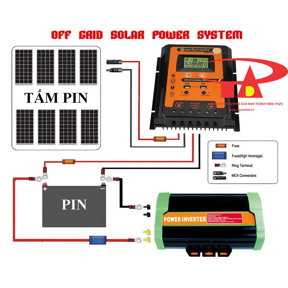 ưu điểm bộ lưu điện năng lượng mặt trời hiện đại, giá rẻ SC01