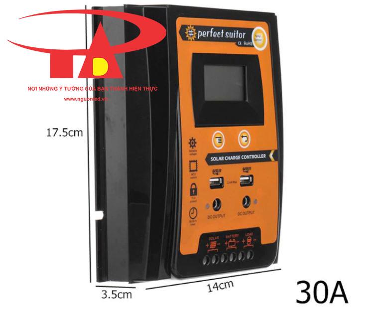 bộ lưu điện năng lượng mặt trời chiết khấu cao, giá rẻ, tiết kiệm điện SC01 30A