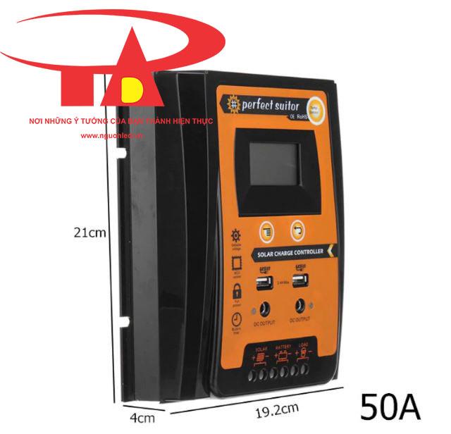 bộ lưu điện năng lượng mặt trời chiết khấu cao, giá rẻ, tiết kiệm điện SC01 50A
