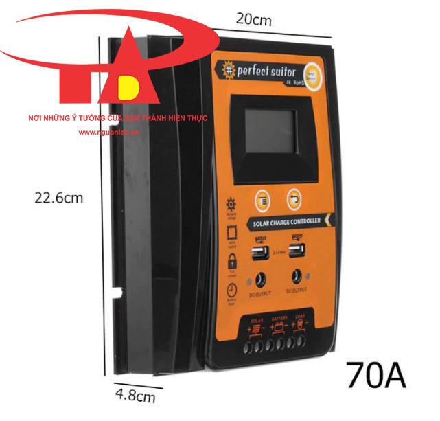 bộ lưu điện năng lượng mặt trời chiết khấu cao, giá rẻ, tiết kiệm điện SC01 70A