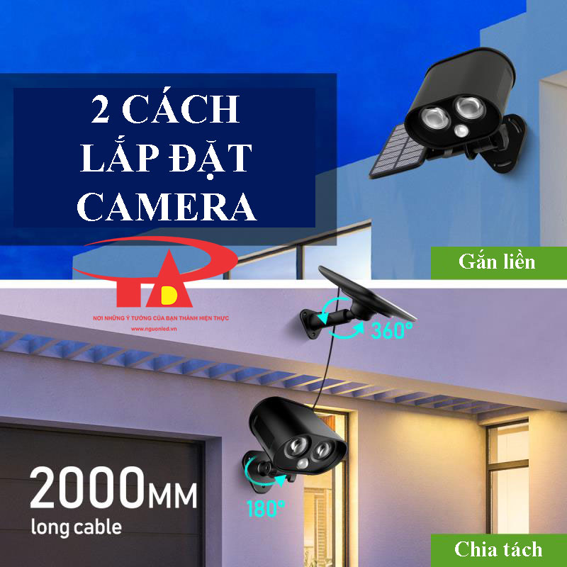 lắp đặt camera năng lượng mặt trời SCL01 giá rẻ, loại tốt