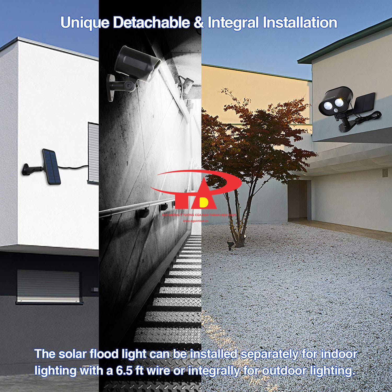 camera năng lượng mặt trời SCL01 chất lượng, nên mua
