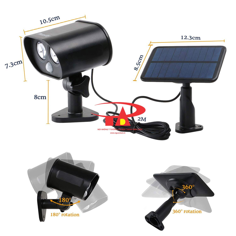 camera năng lượng mặt trời SCL01 nhập khẩu, giá rẻ