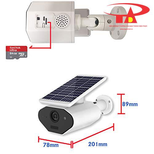 camera năng lượng mặt trời SCL04 giá tốt, tiết kiệm điện