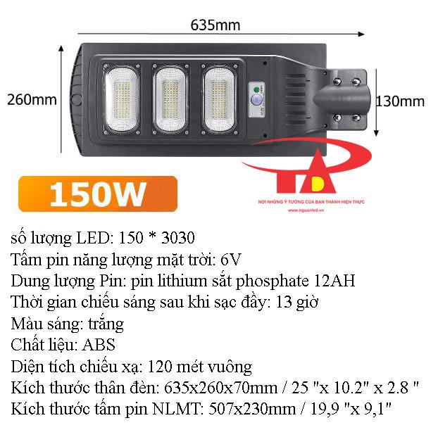 đèn đường led nlmt 150w giá rẻ