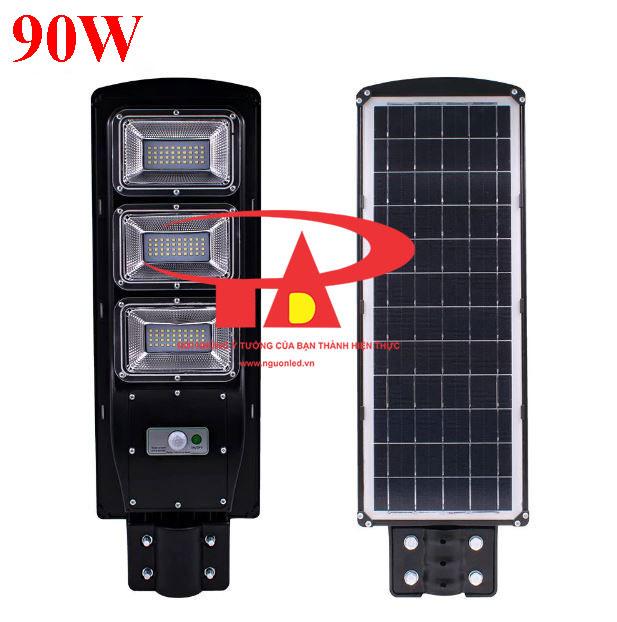đèn đường năng lượng mặt trời 90w chiếu sáng xí nghiệp, nhà máy