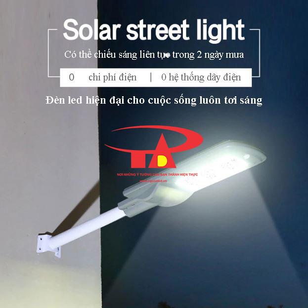 đèn đường led năng lượng mặt trời 150w hiện đại