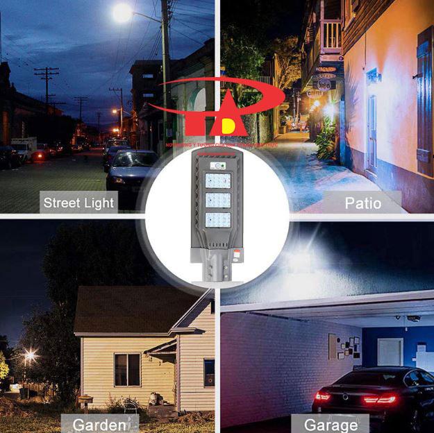 đèn đường chiếu xa năng lượng mặt trời 90w chống thấm nước