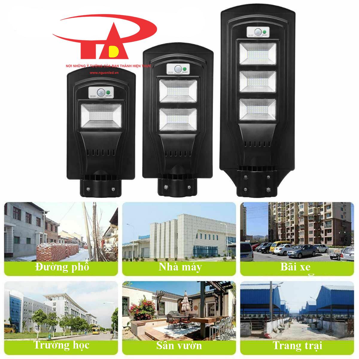 đèn đường năng lượng mặt trời 60w chất lượng cao, nhập khẩu