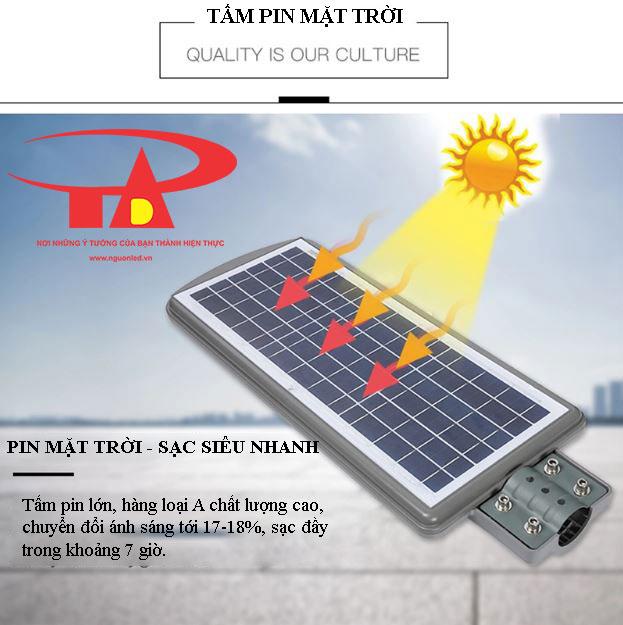 ưu điểm đèn đường năng lượng mặt trời 60w siêu sáng