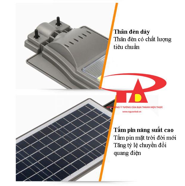 ưu điểm đèn đường NLMT 20w công suất cao
