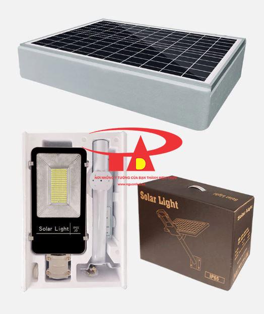 đèn đường năng lượng mặt trời 100w siêu sáng, nhập khẩu