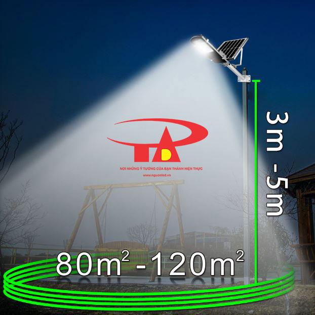 nguyên tắc hoạt động của đèn đường led NLMT 100w thân thiện môi trường