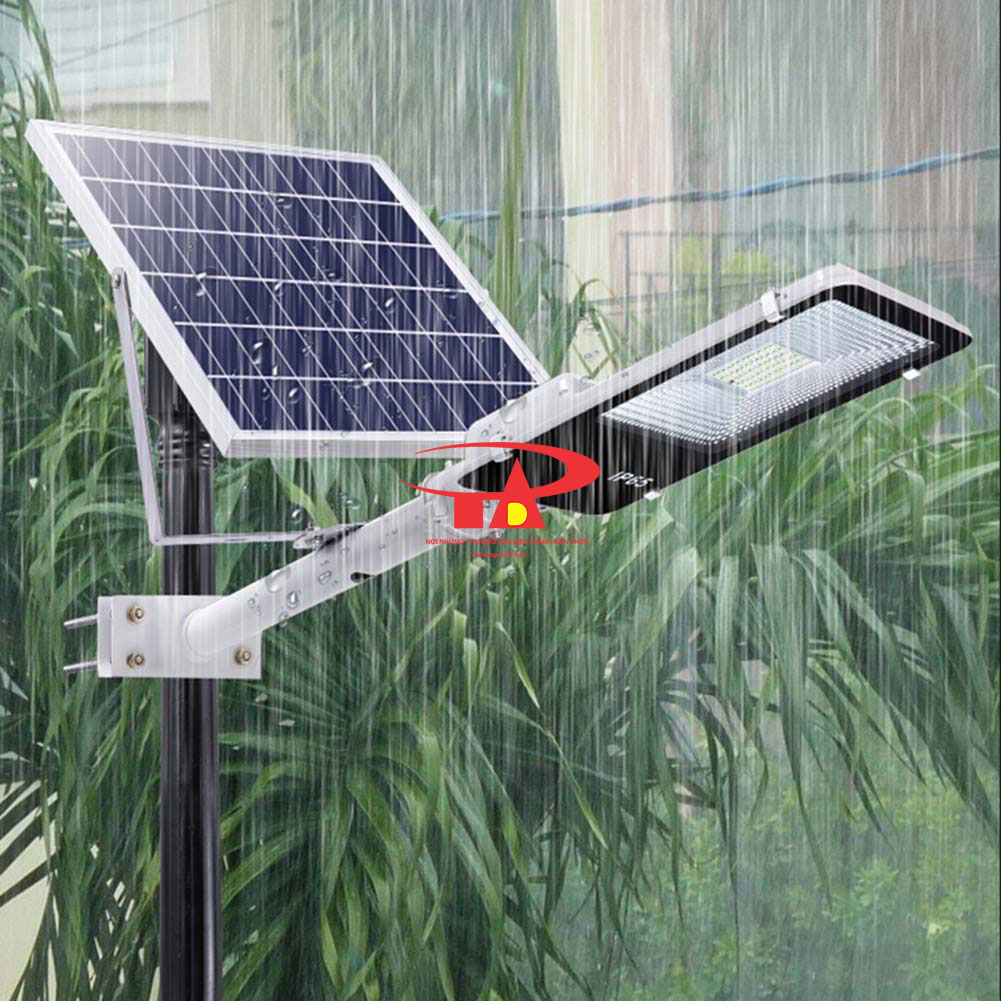 đèn đường năng lượng mặt trời 50w siêu sáng, siêu rẻ