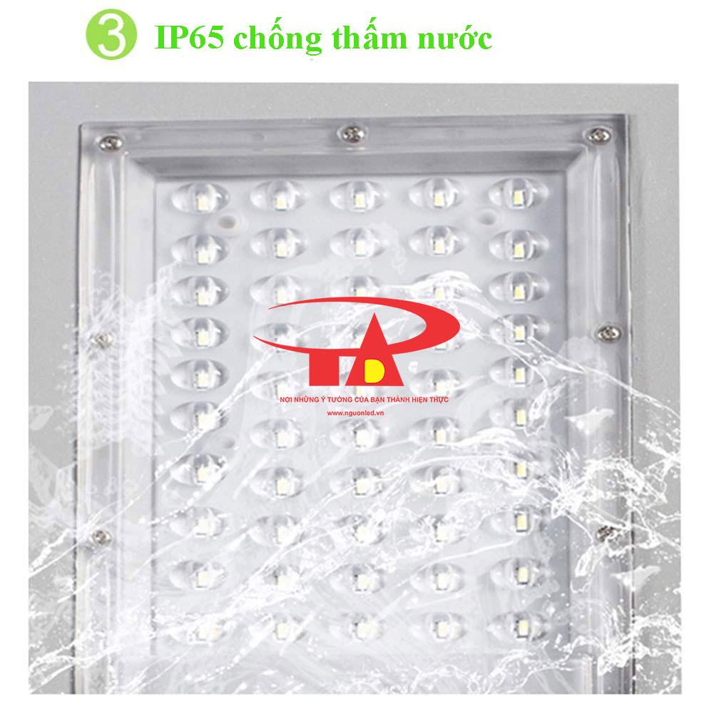 ưu điểm đèn đường năng lượng mặt trời 50w công suất tốt