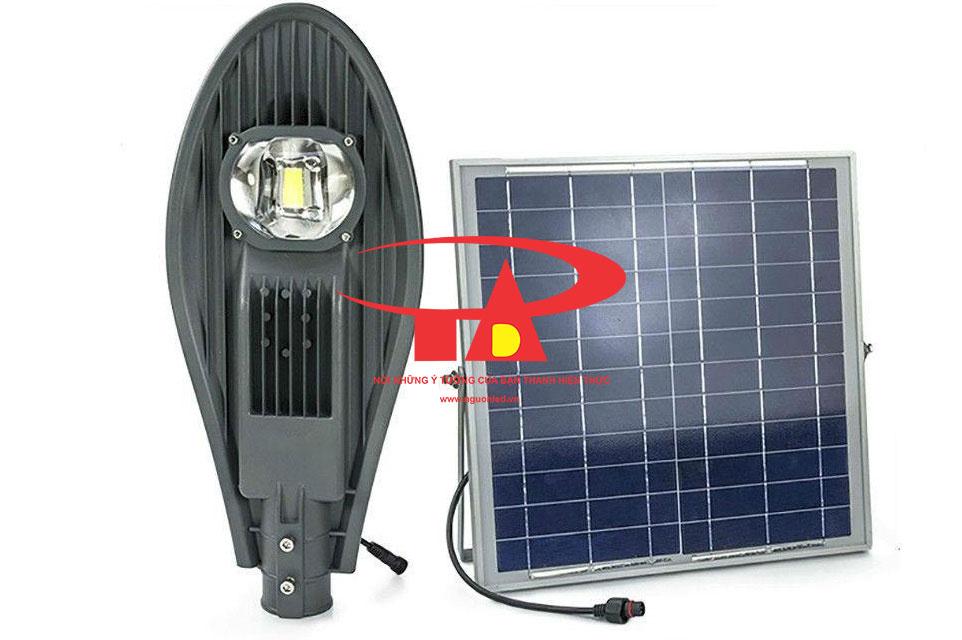 đèn chiếu đường nlmt chiếc lá 60w công suất siêu sáng