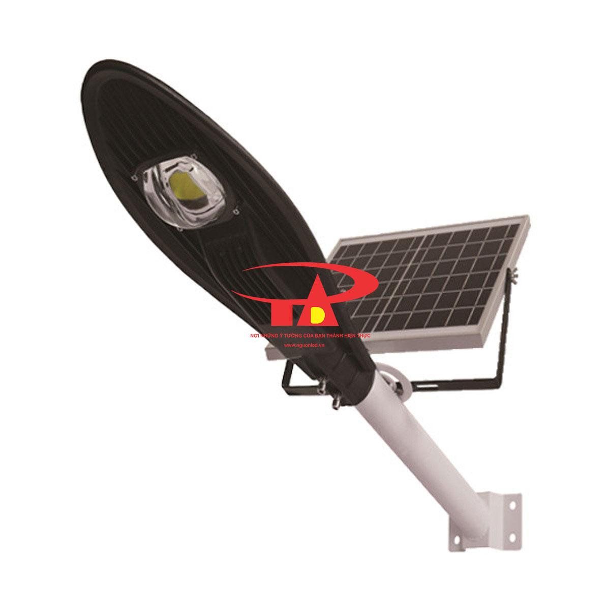 đèn đường chiếc lá NLMT 60w chiếu sáng công trình
