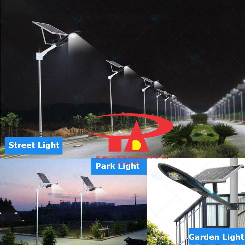 đèn led chiếc lá chiếu đường bằng NLMT 60w chống thấm nước
