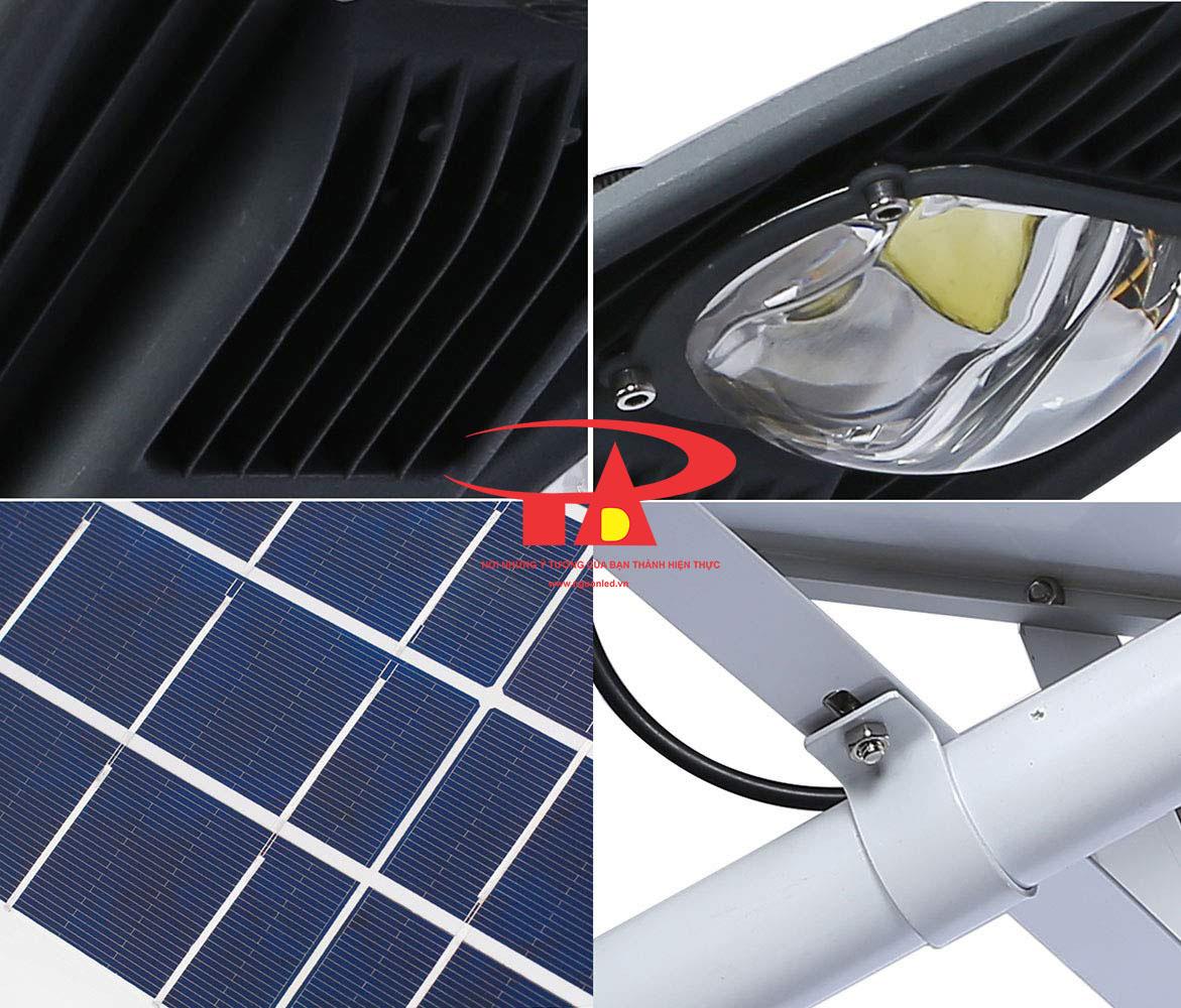 đèn đường NLMT chiếc lá 60w hiệu suất cao, công suất mạnh