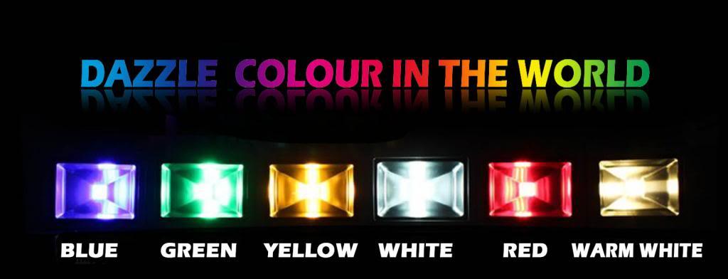 Đèn pha 10W đổi màu, loại tốt, bảo hành 2 năm