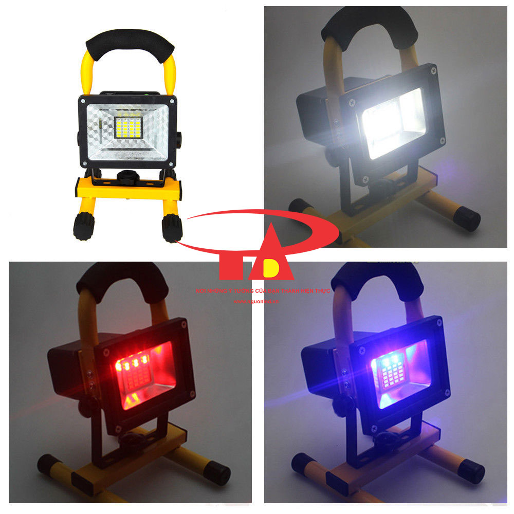 đèn pha sạc 30w chất lượng cao, giá rẻ, nhập khẩu