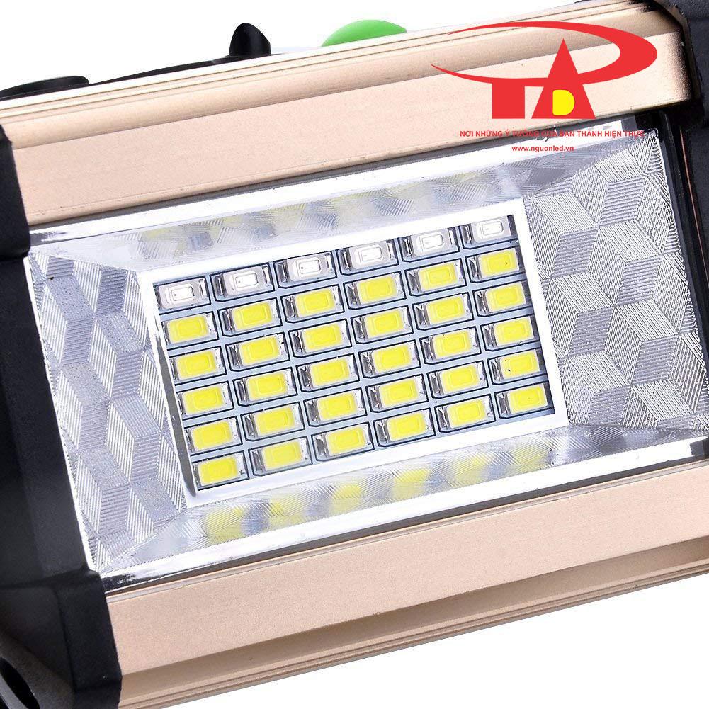 đèn pha sạc 50w siêu bền, siêu sáng, giá rẻ