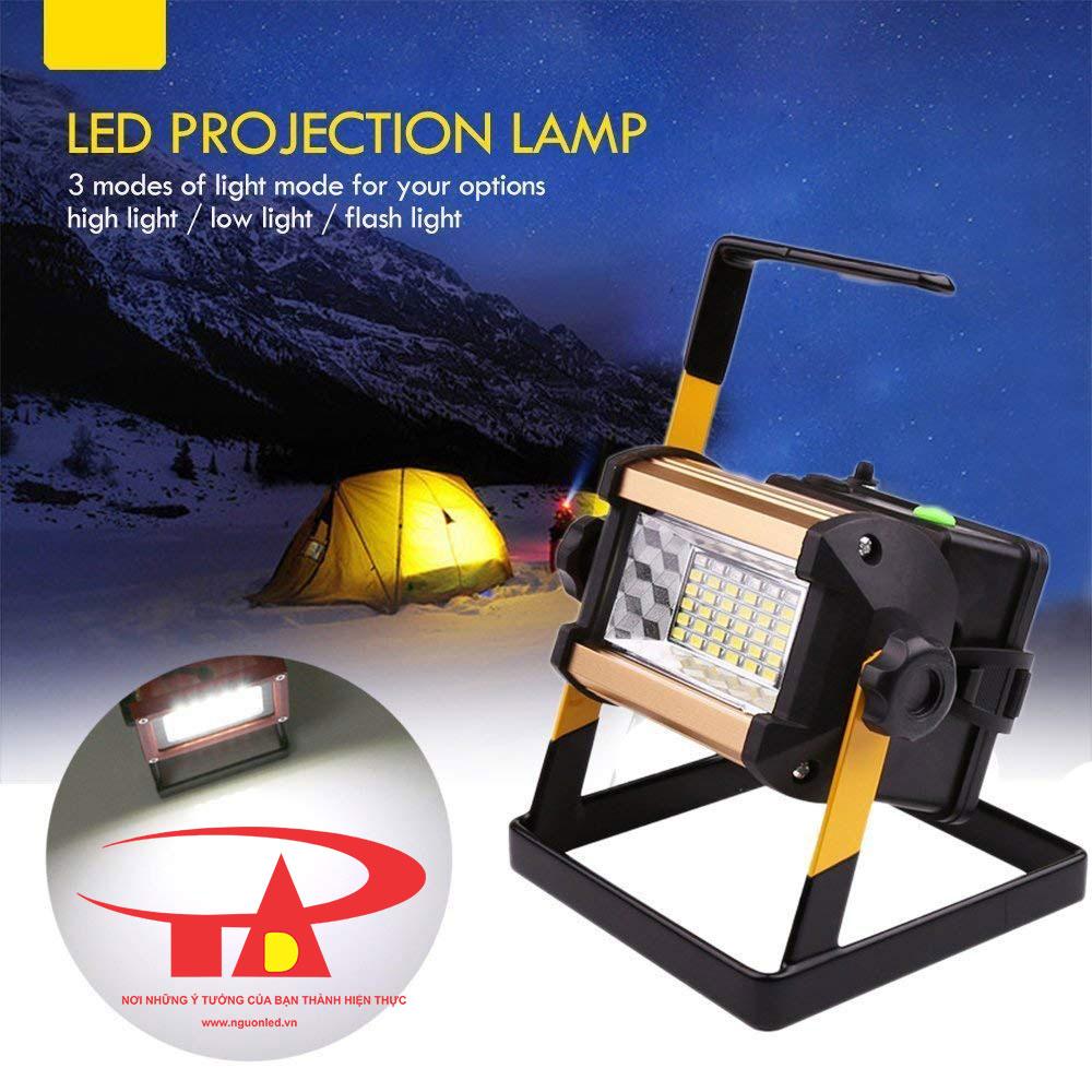 đèn pha sạc nên mua 50w, nhập khẩu, chiếu sáng mạnh