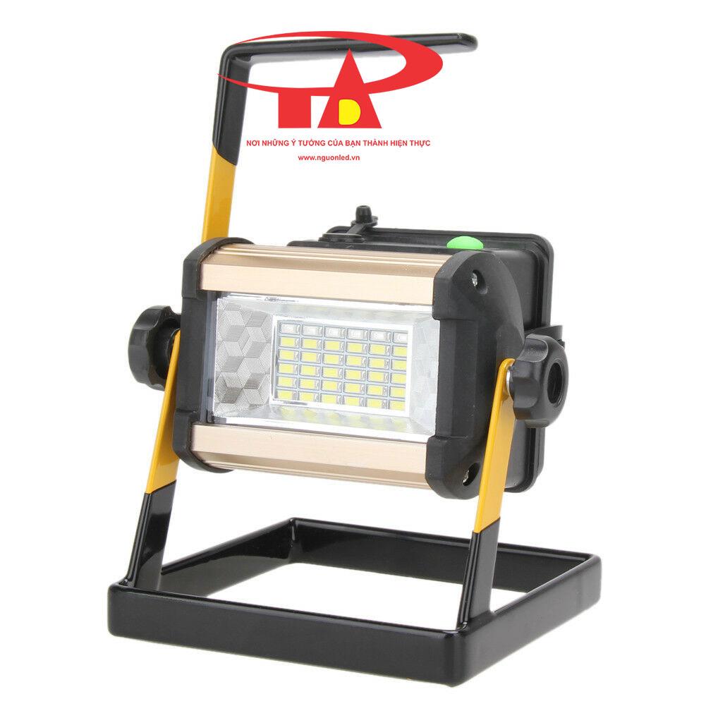 đèn pha sạc 50w loại tốt, siêu bền, chiết khấu cao
