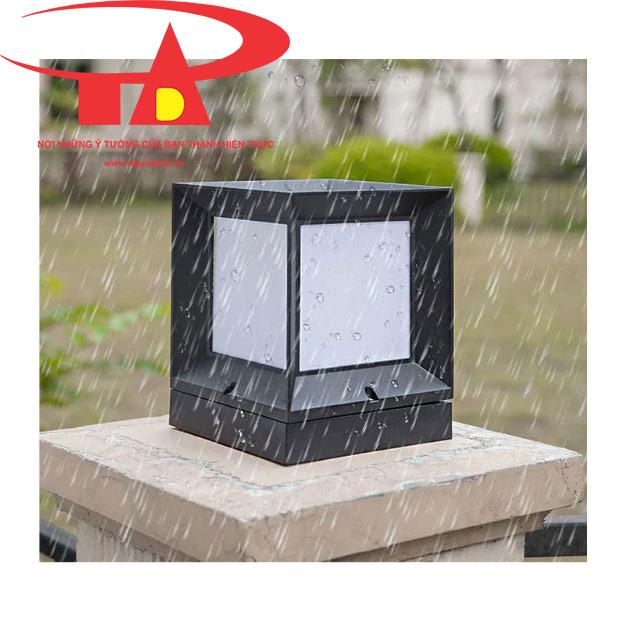 đèn trụ cổng năng lượng mặt trời chống thấm nước, hoạt động liên tục