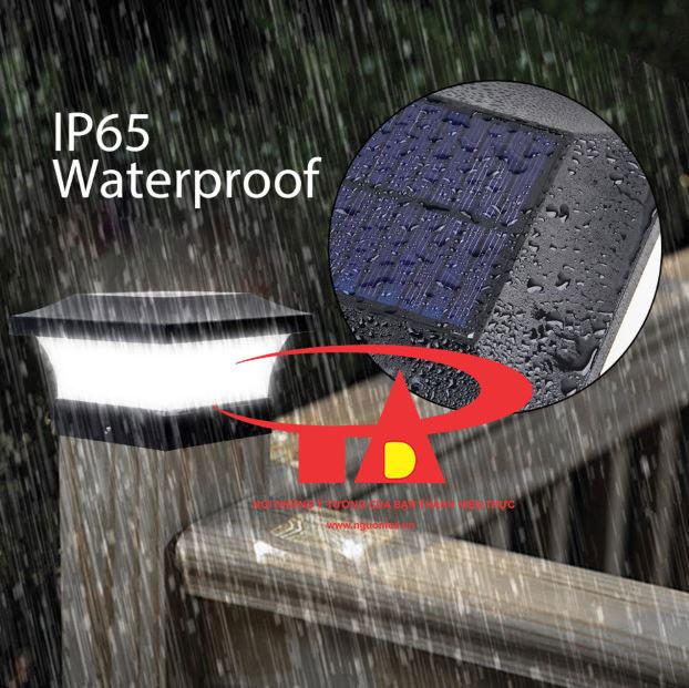 ưu điểm đèn cổng trụ NLMT chống thấm nước