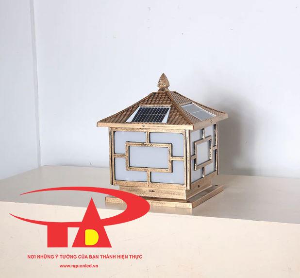 đèn cổng trụ NLMT chất lượng, giá rẻ