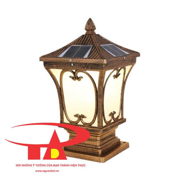 đèn trụ cổng NLMT giá rẻ, loại tốt