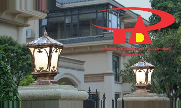 nguyên lý hoạt động của đèn trụ cổng trang trí sử dụng năng lượng mặt trời