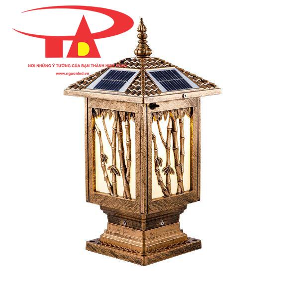 đèn trụ cổng năng lượng mặt trời giá rẻ tại TPHCM