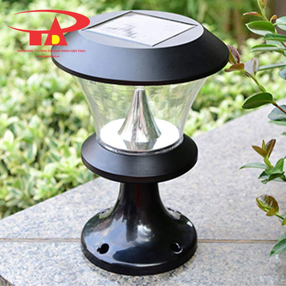 đèn trụ cổng NLMT loại tốt, giá rẻ, chất lượng cao