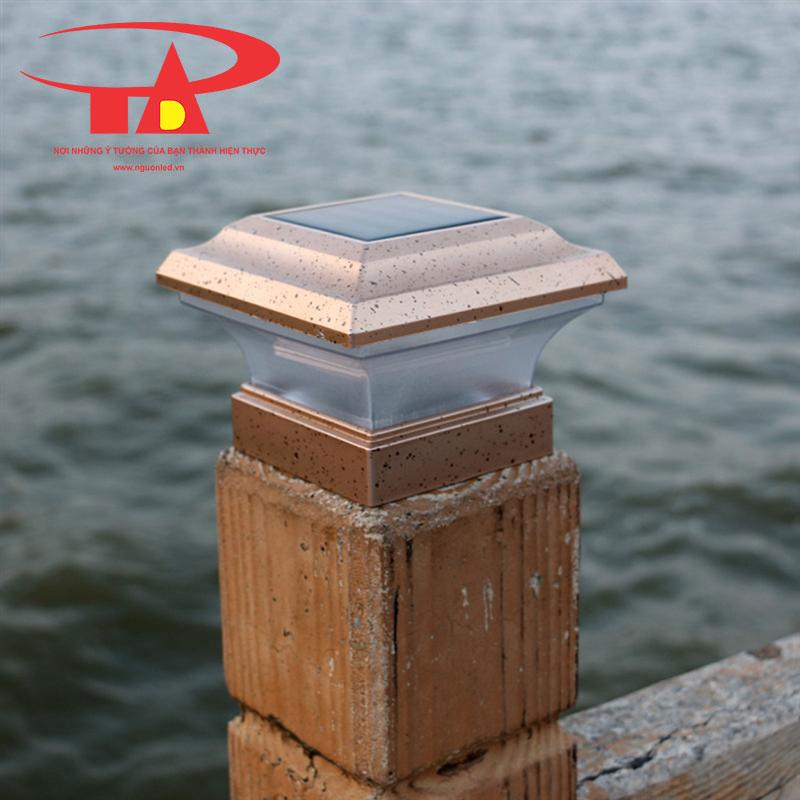đèn trụ cổng NLMT hiện đại, chất lượng cao