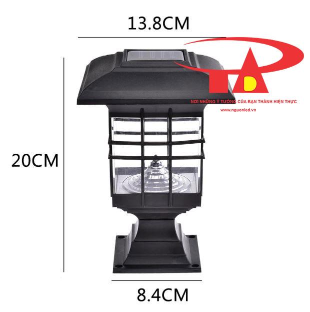 đèn cổng trụ NLMT giá rẻ tại TPHCM