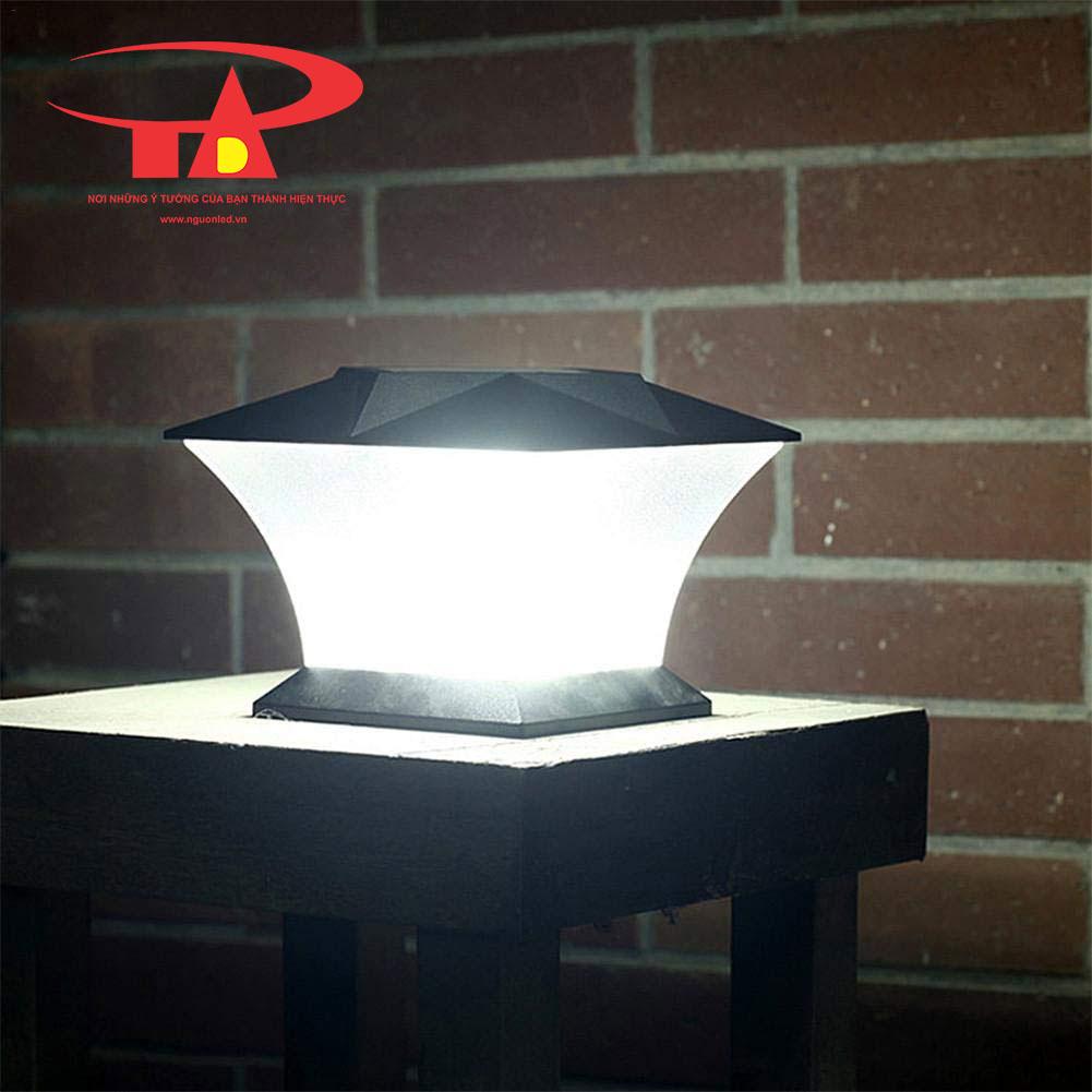 đèn trụ cổng NLMT siêu bền, chống thấm nước