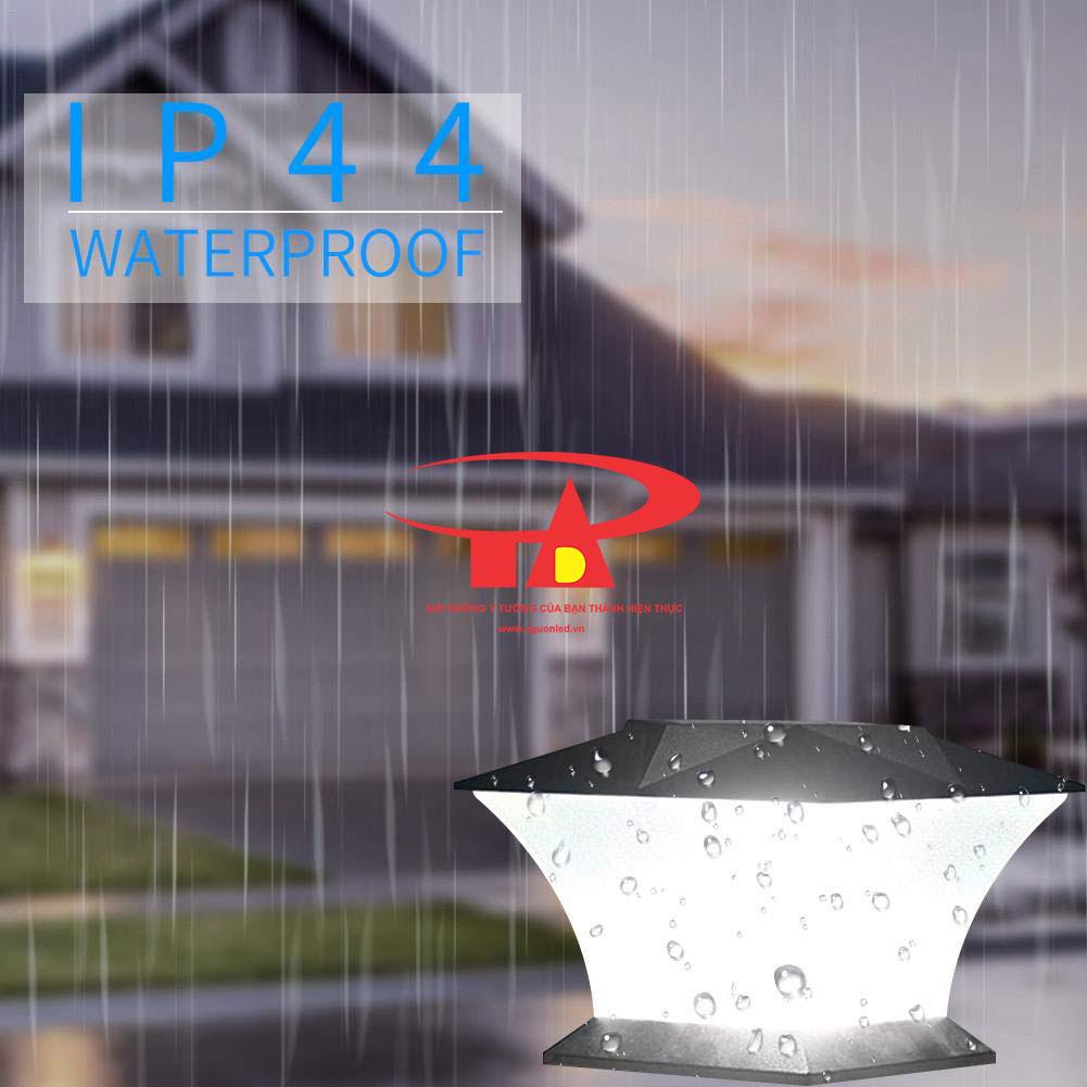 đèn NLMT trang trí cổng trụ chống thấm nước
