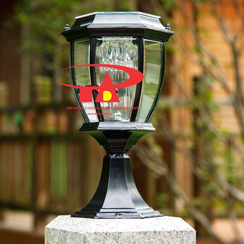 đèn trang trí cổng trụ nlmt loại tốt, giá rẻ tại TPHCM