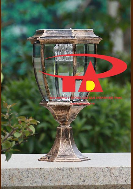 đèn trụ cổng NLMT chống thấm nước, tuổi thọ cao
