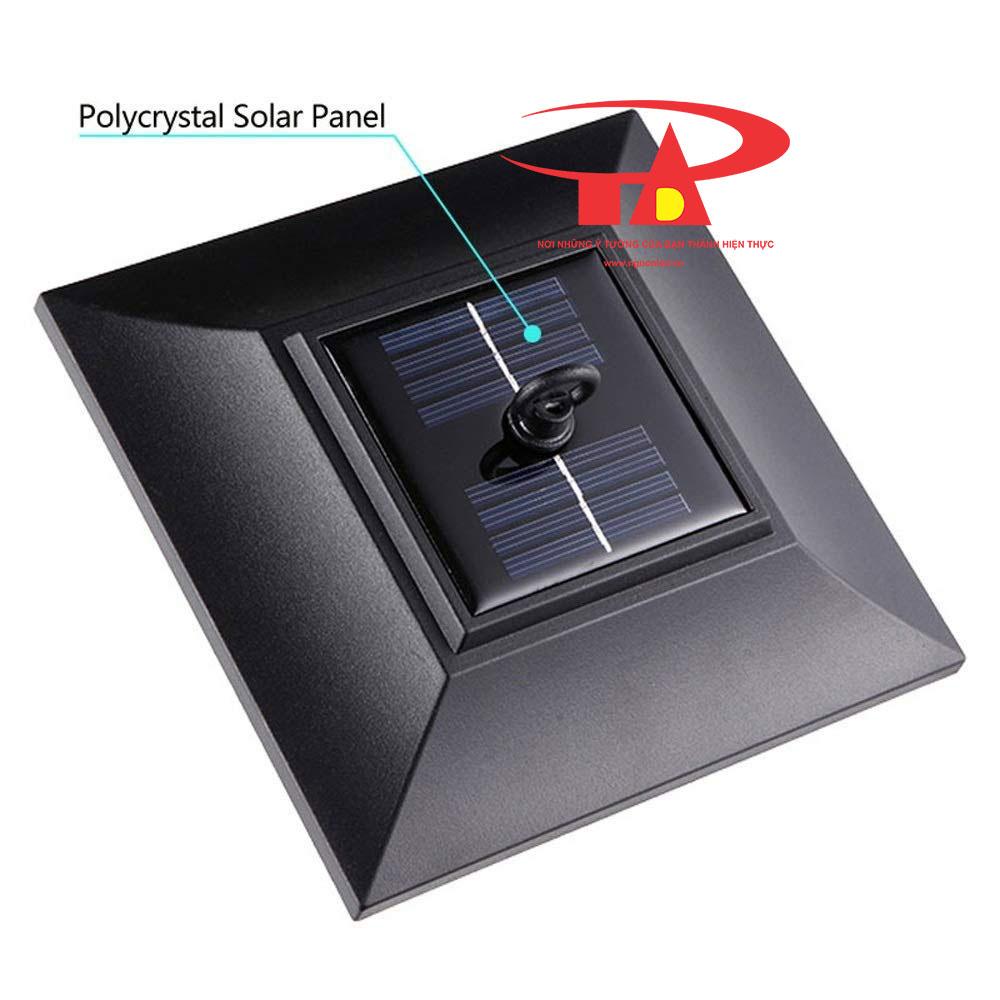 đèn trụ cổng năng lượng mặt trời loại tốt, chống thấm nước