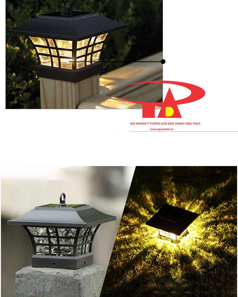 nguyên lý hoạt động của đèn trang trí cổng năng lượng mặt trời giá rẻ