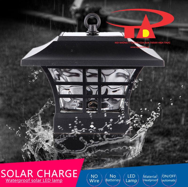 đèn trụ cổng năng lượng mặt trời nên mua, chất lượng cao