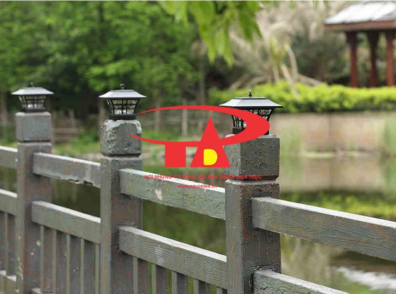 đèn trụ cổng năng lượng mặt trời chống thấm nước, siêu bền