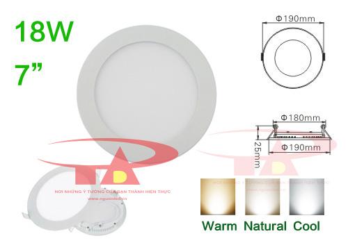 Đèn led âm trần HG loại tốt giá rẻ, mua tại nguonled.vn