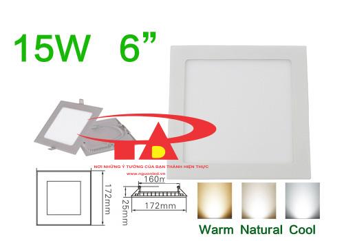 Đèn led âm ATN loại tốt chuyên dùng cho xây dựng trong nhà