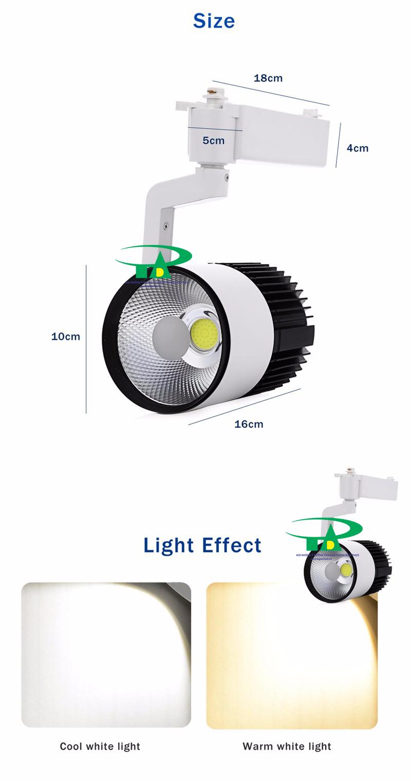 Đèn led thanh ray loại tốt, giá rẻ tại nguonled.vn