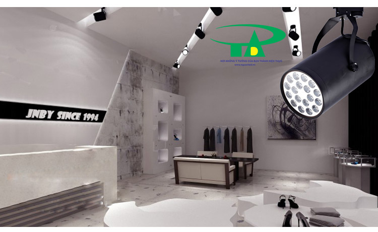 Đèn led thanh ray 12, loại tốt, giá rẻ, bảo hành 1 năm