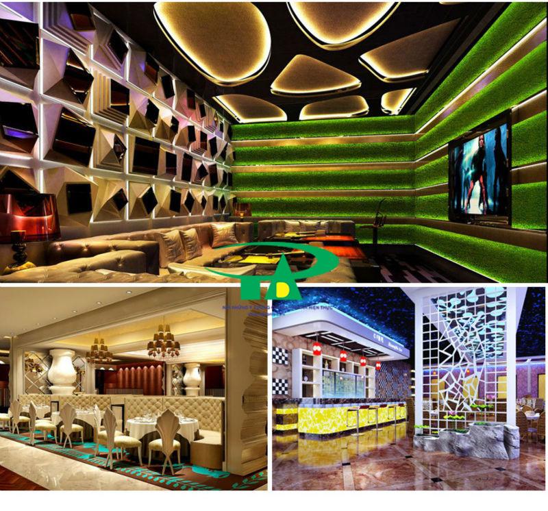 Ứng dụng của đèn led dây 5050 dùng hắt trần thạch cao, quán karaoke, khách sạn